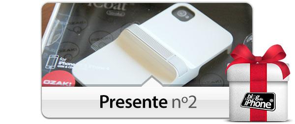 Capa protetora Ozaki para iPhone 4/4S