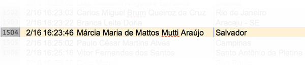 Márcia Maria de Mattos Mutti Araújo