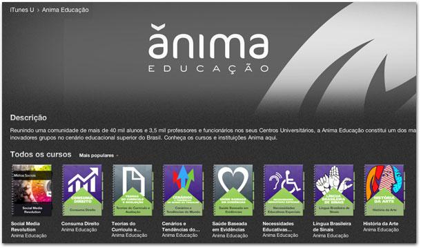 iTunes U - Anima Educação