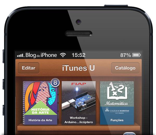iTunes U Brasil