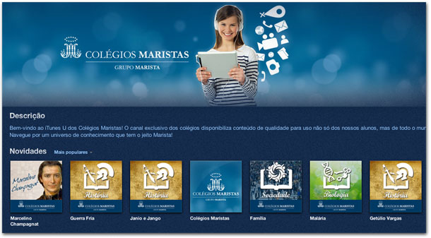 iTunes U - Colégios Maristas