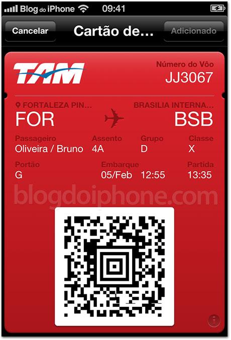 Passbook da TAM