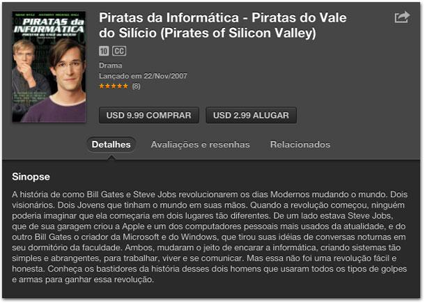 Photo of Sugestão de filme para assistir no feriado: Piratas do Vale do Silício