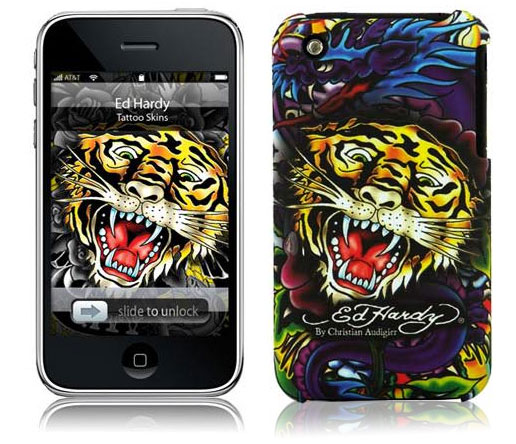 Ed Hardy Tiger para iPhone 3GS