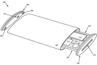 Patente novo iPhone