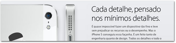 iPhone: riqueza nos detalhes