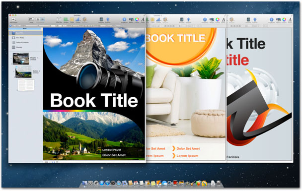 Templates for iBooks Author