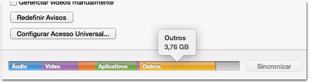 """""""Outros"""" no iTunes"""