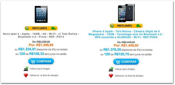 Preços Neon Eletro