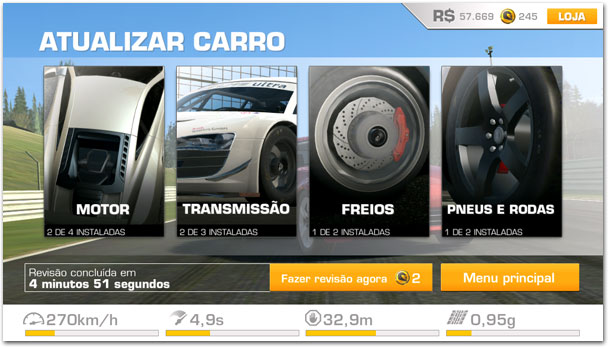 Real Racing 3 - Atualizações