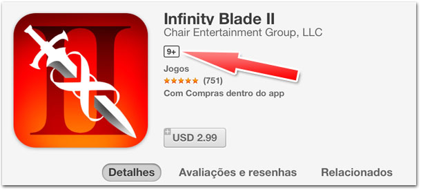 Photo of App Store começa a destacar indicação de idade nos aplicativos