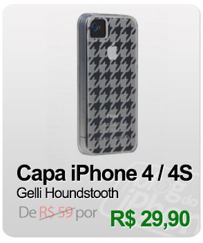 Capa Case-Mate Gelli Houndstooth Para iPhone 4/4S