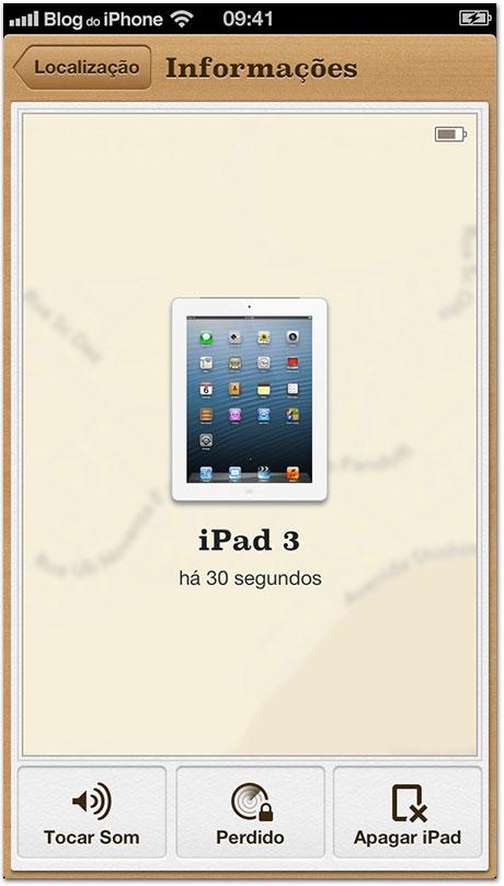 Buscar meu iPad