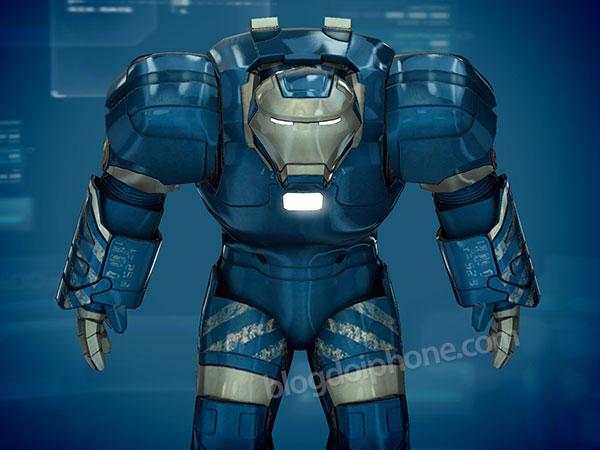 Homem de Ferro 3 - Armaduras