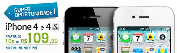 Photo of Operadora TIM começa a vender iPhone 4 e 4S com mesmo preço da Apple Store Online
