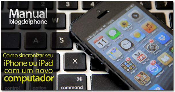 Photo of [Manual BDI] Como sincronizar seu iPhone ou iPad com um novo computador