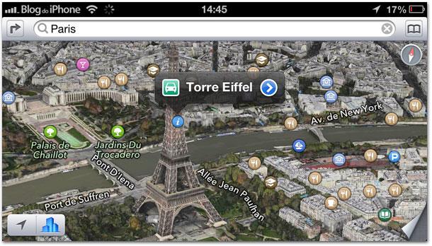 Photo of Mapas da Apple adicionam o FlyOver 3D a mais uma cidade: Paris