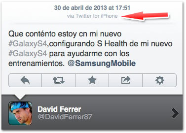 iPhone do Ferrer