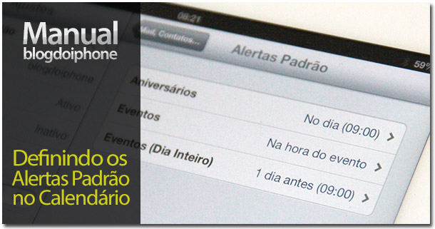 Photo of [Manual BDI] Como gerenciar seus alertas dos calendários no iPhone ou iPad