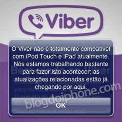 Viber no iPad