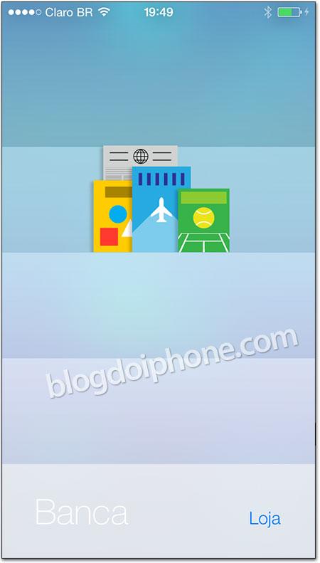 iOS 7 - Banca