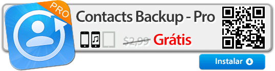 Contacts Backup -- Pro