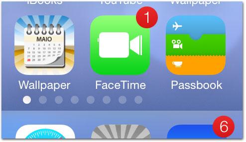 iOS 7 — FaceTime