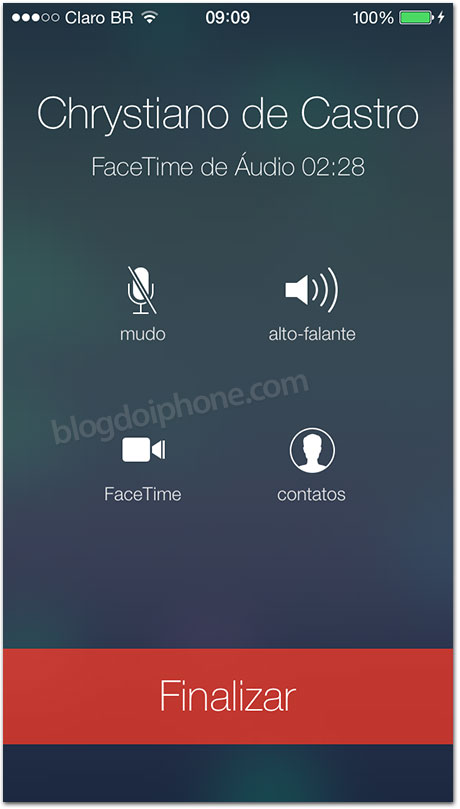 iOS 7 - FaceTime Audio