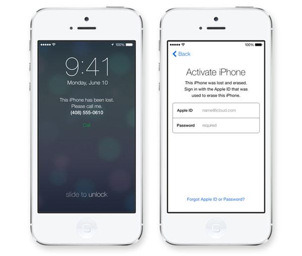 iOS 7 — Ladrao