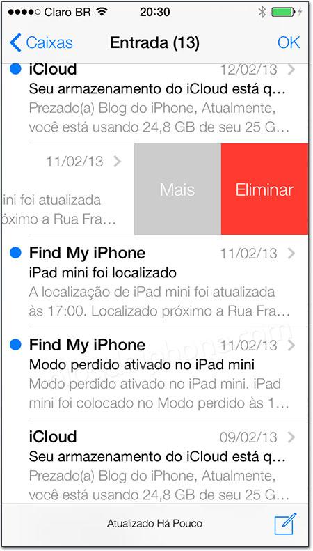 iOS 7 - Mail