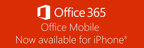 Microsoft Office Mobile iPhone