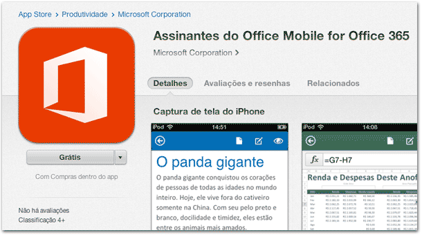 Office para iPhone