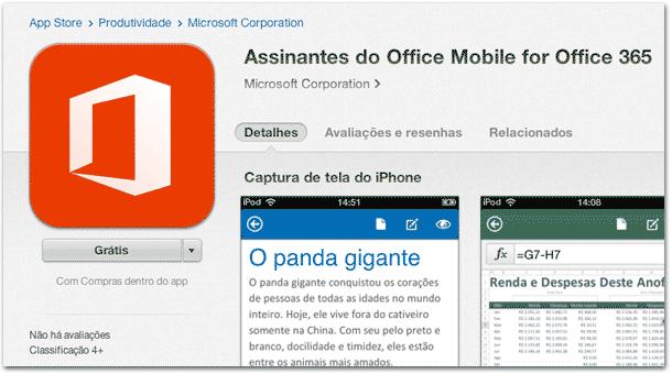Office para iPhone