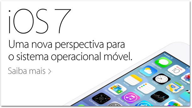 Página do iOS 7