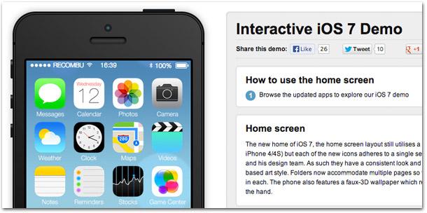 iOS 7 interativo