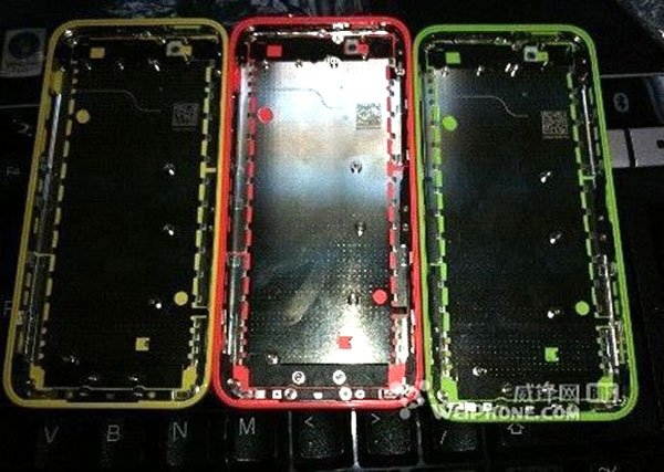 iPhone plastic