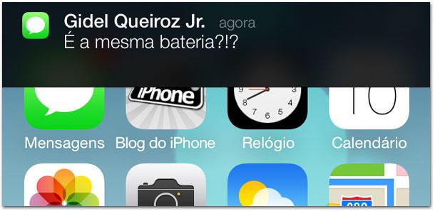 iOS 7 - Notificações