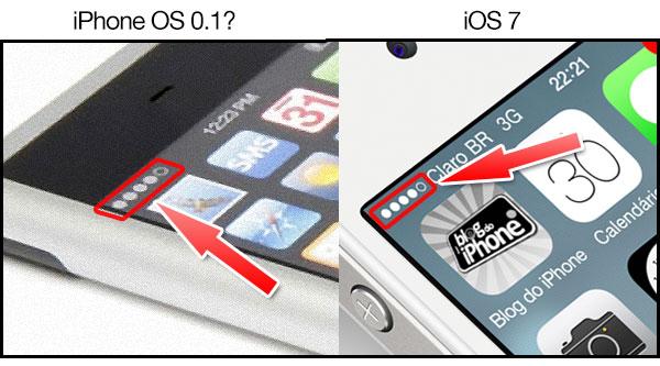 Photo of [curiosidade] Um detalhe do iOS 7 que nasceu bem antes da criação do primeiro iPhone