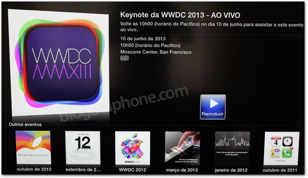 Streaming WWDC