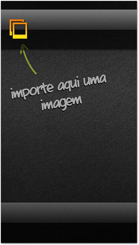 Importando imagem
