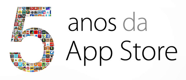 App Store 5 anos