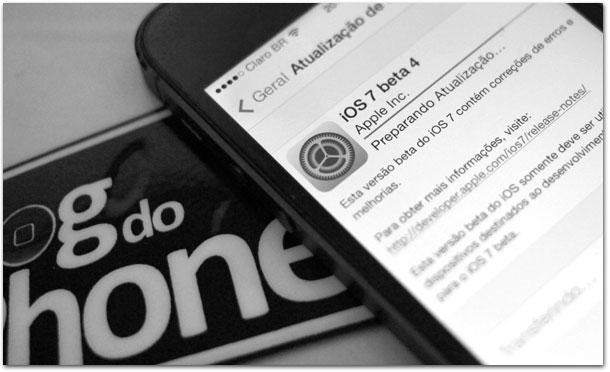 iOS 7 beta 4