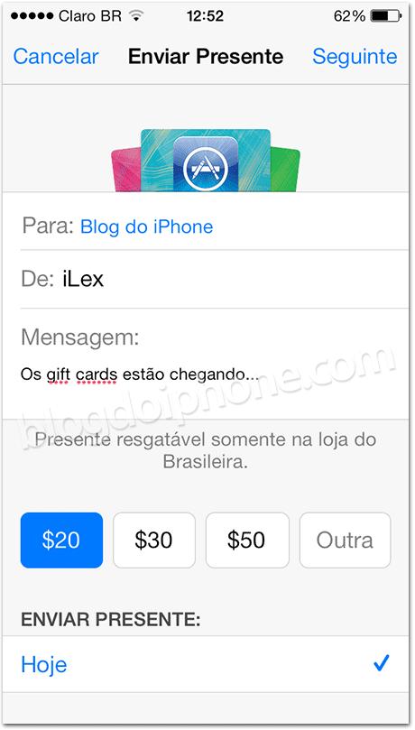 Vale presentes no Brasil