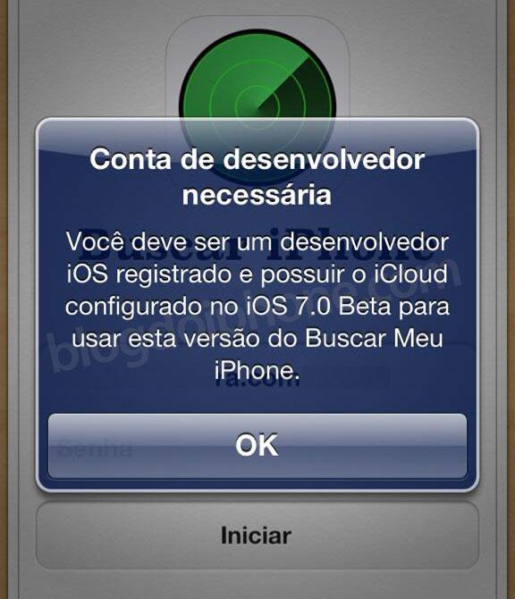 Buscar Meu iPhone beta