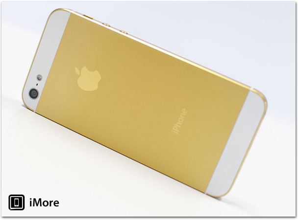 iPhone dourado