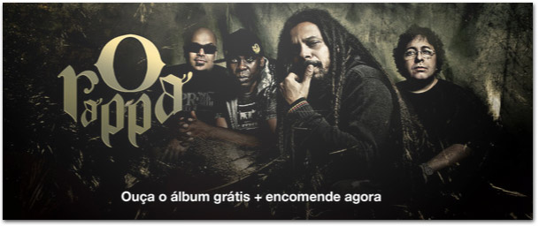 Photo of Ouça agora, de graça, o novo álbum do Rappa no seu iPhone, iPod ou iPad
