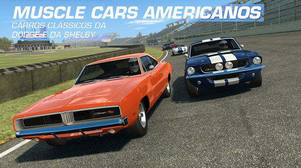 Real Racing 3 Muscle Cars