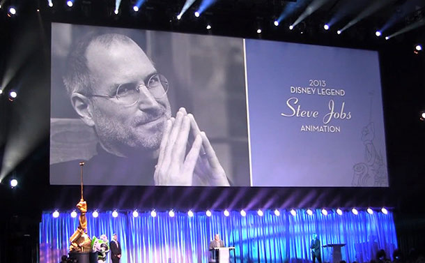 Disney Legends à Steve Jobs