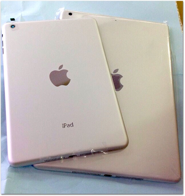 Suposta traseira do iPad 5