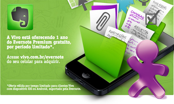 Photo of Parceria faz clientes da Vivo ganharem 1 ano grátis do Evernote Premium